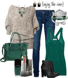 """jade"" by enjoytheview on Polyvore"