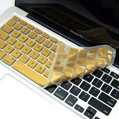 $7.99 Gold Keyboard Cover