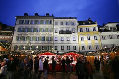 Christmas Market Lucerne - Copyright Luzern.com. More Christmas Markets on @ebdestinations #Christmas #Xmas #Europe @Lucerne