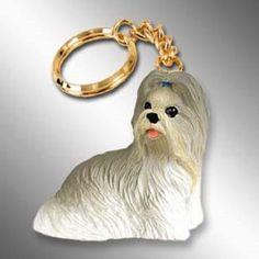 Shih Tzu Mixed Dog Key Chain Ring Holder Accessories