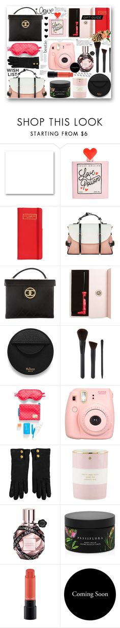 """bestie gift guide-a little bit of this..."" by mercimasada ❤ liked on Polyvore featuring St. John, ban.do, Flight 001, Chanel, Eva NYC, Mulberry, Forever 21, Polaroid, Gucci and Kate Spade"