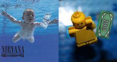 Capas de discos clássicos ganham versão em Lego - Nirvana