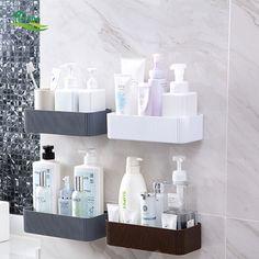 Falra szerelhető, parktikus és tetszetős fürdőszobai tároló. Helyezd el stílusosan a fürdőszobai kellékeket ennek a remek dekor elemnek a segítségével!