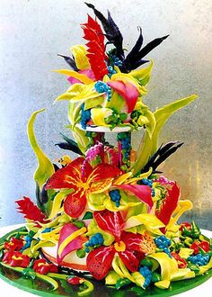colourful cakes - Yahoo Image Search results