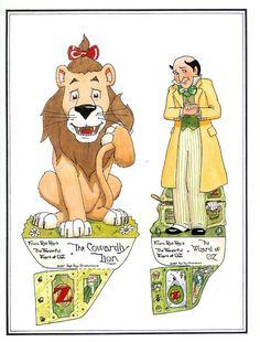 23 Best Wizard of Oz Paper Dolls images Paper Art, Paper Crafts, Bobe, Vintage Paper Dolls, Retro Toys, Paper Toys, Wizard Of Oz, Free Paper, Art Pages