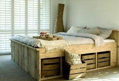 Sehe dir das Foto von Leonie mit dem Titel Bett aus Paletten selber bauen. Klasse Idee und es sieht super aus und andere inspirierende Bilder auf Spaaz.de an.