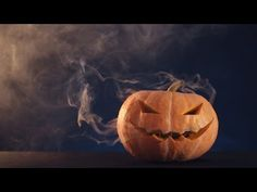 Rainbow Fire Halloween Jack-o-Lantern - YouTube