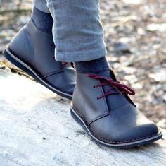 Cruelty free shoes | Desert Boot Wide cacao grease | Cammina Leggero