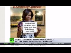 Viral Recoil: Michelle Obama's hashtag activism backfires with anti-dron...