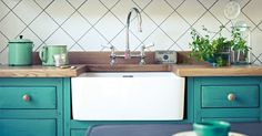 good kitchen colors. south bank/mid century color/Fired Earth