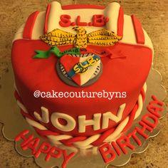 SLB benfica Portuguese soccer cake