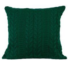 Kulan Green 100% Cashmere Cushion