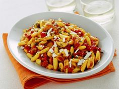 Cavatelli are a traditional southern Italian pasta shape which pair well with thick, chunky sauces like this one.