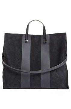 Clare V.  Simple  Stripe Leather Tote  1aab2f83e9172