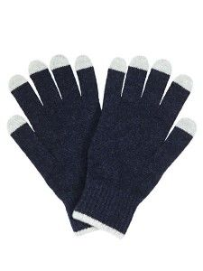 Christmas Gift Guide: Top 10 Gifts for Him Wool Gloves, Leather Gloves, Christmas Gift Guide, Christmas Gifts, London Shopping, Must Have Gadgets, Technology Gifts, Oxford Blue, Chunky Wool