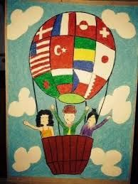 23 Nisan Resimleri Pastel Boya Google Arama Cizim Sanatsal Baski Resim