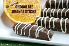 Butter, with a side of Bread // Easy family recipes and reviews.: HOMEMADE CHOCOLATE ORANGE STICKS