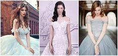15 vestidos de noiva em tons pastel para quem não quer casar de branco - eNoivado