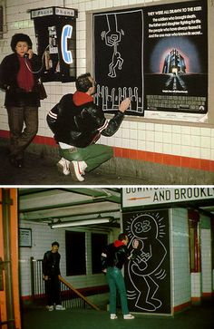 #keithharing http://www.widewalls.ch/artist/keith-haring/