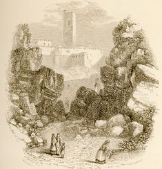 The Acropolis, from the fountain of the Areopagus | Wordsworth, Christopher | 1882 | Άποψη της Ακρόπολης από την κρήνη του Αρείου Πάγου |