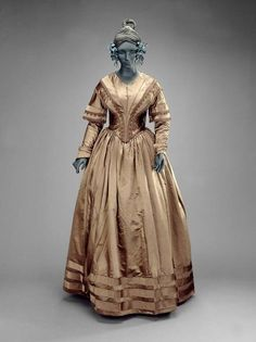 Dress 1840 The Museum of Fine Arts, Boston