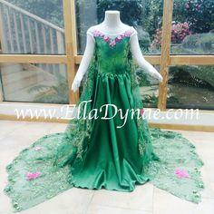 Elsa Frozen. conte de fées Frozen Fever Inspiré Tulle Tutu Dress robe fantaisie
