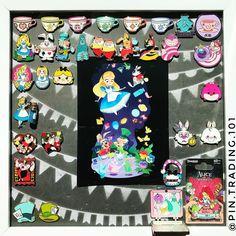 Alice in Wonderland pins ♥️♣️♦️♠️ Disneyland Pins, Disney Pins, Alice In Wonderland, Kids Rugs, Instagram, Decor, Decoration, Kid Friendly Rugs, Decorating