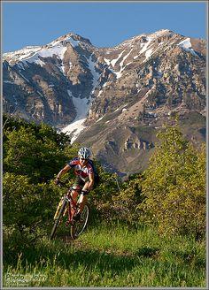 Mountain biking in Provo Utah