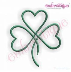 Embroidery Designs (All) - Shamrock Heart Satin Stitch Outline - Irish St. Patrick's Day on sale now at Embroitique! Tribal Tattoos, Tattoos Skull, Celtic Tattoos, Mini Tattoos, Foot Tattoos, Cute Tattoos, Body Art Tattoos, Sleeve Tattoos, Tatoos