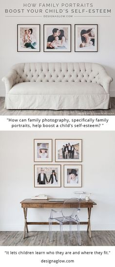 How Family Portraits Boost Your Child's Self-Esteem. A fantastic article to read and share.