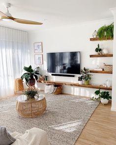 Living Room Decor Cozy, Simple Living Room, Boho Living Room, Bedroom Decor, Apartment Interior, Living Room Inspiration, Home Interior Design, Living Room Designs, Home Decor