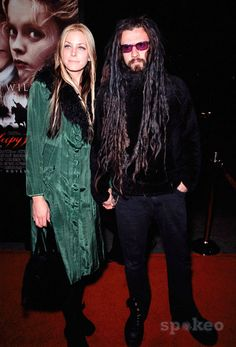 Rob and Sheri Moon Zombie... these two have been together since his white zombie days