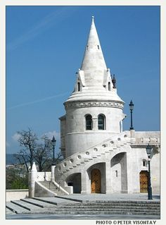 Hungary. Fishermen's Bastion, a structure much more elaborate than useful.