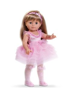 Ballerina Soy Tu Doll, Paola Reina America, 100 % Made in Spain, Made in Europe, A doll for every child, Multicultural dolls