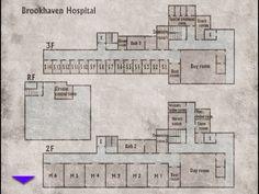 Silent Hill: Brookhaven hospital 2f 3f rf-1