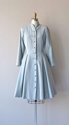 Cloud Story coat 1950s princess coat vintage 50s by DearGolden