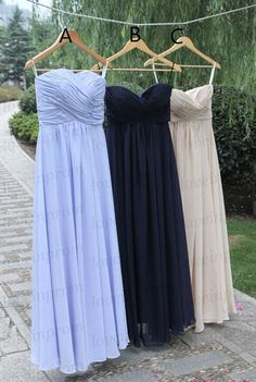 Long prom dresshandmade pleat chiffon bridesmaid by loveinprom. This shop on etsy can make custom color dresses! simple prom dress with lots of colors never run out of stock and always avaliable!