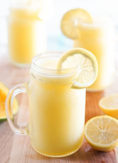 Made: mango lemonade