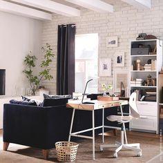 ikea fjÄllberget bürostuhl inspiration fürs arbeitszimmer   home ... - Ideen Buromobel Design Ersa Arbeitszimmer