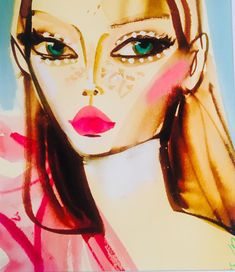 Gorgeous Grace in my favorite Italian restaurant Illustration Art Drawing, Fashion Illustration Sketches, Face Art, Art Faces, Doodle Drawings, Funny Wallpapers, Art Inspo, Painting & Drawing, Art Decor