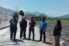 Concá, Arroyo Seco, Qro 05 de Abril del 2016.- En visita a la institución de la UAQ Concá, la presidenta...