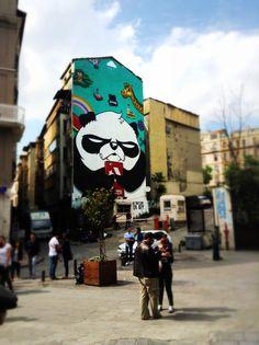 Next to the galata tower - Artist: Leo Lunatic