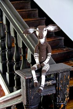 Handmade #vilt #okapi | Flickr swig-filz-felt-feutre