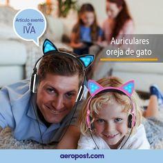Imagina los divertidos auriculares de oreja de gato que podrías regalarle a tus hijos.  Les dará a los niños una sensación de estilo y de encanto.  Además tiene suaves almohadillas para los oídos, que reduce el dolor de la oreja y no daña el oído de los niños.  ¡Y SI NO TE GUSTA, LO DEVUELVES!  #compras #ofertas #auriculares #shopping #music #niños #colombia #tiendaonline #gato #shoppingonline In Ear Headphones, Ebay, Cats, Shopping, Cat Ears, Headpieces, Grief, Colombia, Style