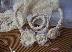 Shabby chic wedding jewelry