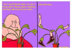 The Sausage Factory -  Cartoons: Plant Life