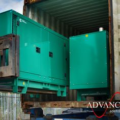 FURTHER EXPORTS  These 2 x 38 kVA #Cummins #C38D5 #Silent #DieselGenerators are on their way to our #Egypt agent, who has secured orders locally.  View this #Genset here: adeltd.com/c38d5  Or find your perfect #Generator here: adeltd.com/generators  #WednesdayWisdow #PowerGenerator #wednesdaymorning Engineering Companies, Cummins Diesel, Power Generator, Generators, Egypt