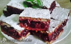Receptbázis - Meggyes pite - A tésztához: dkg liszt db tojás dkg… Meatloaf, Cake Cookies, My Recipes, Sandwiches, Sweets, Food, Polish, Hungary, Sweet Pastries