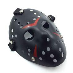Jason vs Friday The 13th Horror Hockey Cosplay Costume Halloween Killer Masquerade Ball Mask Scary Lace Mask Anonymou Masks