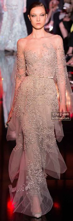 Elie Saab Fall Winter 2014-15 Haute Couture. UGHHHHH